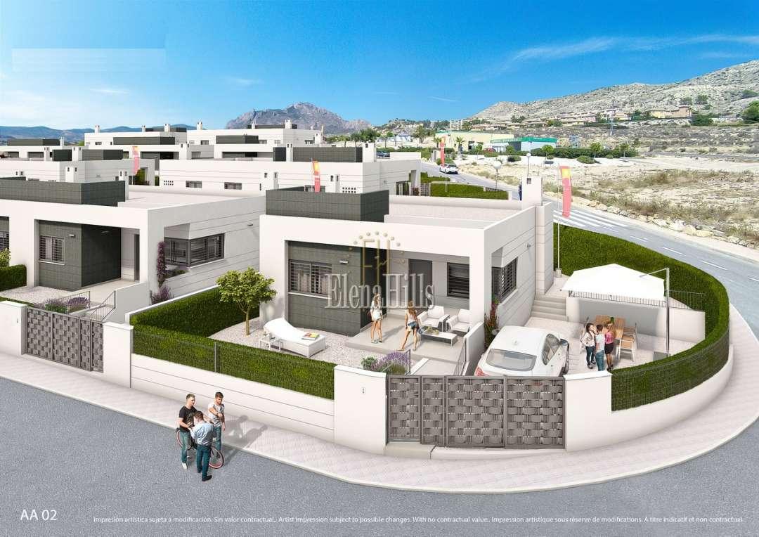 Apartamentos y casas inmobiliarias en España